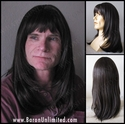 Aaron <br> Synthetic Man's Long Wig
