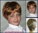 Alex Jr Girl or Boy's Short Synthetic Wig