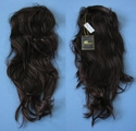 Back Track Reversable 3/4 cap half wig synthetic