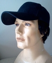 Human Hair -- Base ball cap with Human Hair