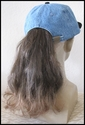 Baseball cap with ponytail color 4t30