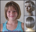 Becka Synthetic Child's Wig