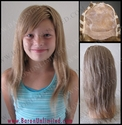 Belinda Human Hair Mono-Top Child's Wig