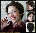 Betty Boop Style Flapper Wig