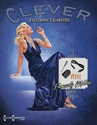 Blonde Woman in a Blue Gown E-Cigarette T-Shirt