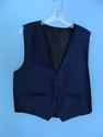 Blue/Black Design Vest