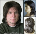 Collin <br> Man's Synthetic Wig