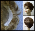Courtney  --- Girl or Boy's Short  Synthetic Wig