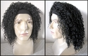 Ratt - Crimpy Curly Headband Rocker Wig