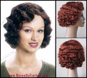 Deluxe Flapper Finger Wave Wig