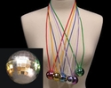 4 Disco Ball Necklaces - SALE