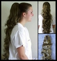 DM20 Very Long Clip-on Ponytail