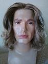 Dude Lace Front Synthetic Wavy Man's Wig