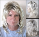 Blonde Hair Rocker <br> Synthetic Man's Wig