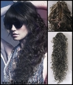 Long curly Claw clip SALE