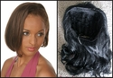 Human Hair 3/4 Cap Hairpiece -- 12 Inches $99.99
