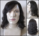 Sonn<br>Human Hair Long Man's Wig