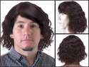 Blair<br>Human Hair Wavy Curl Man's Wig