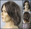 Julian  <br>Human Hair man's wig -- mono part