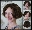 Kannie 100% Human Hair  Mono-top