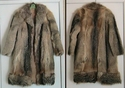 Kit Fox Fur Jacket Coat