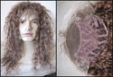 Lace Front Human Hair 80's Rocker Wig