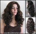 Lette Long Curly Synthetic Wig