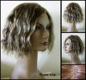 Meg 100% Human Hair  Mono-top