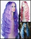 Mermaid Long Wavy Wig