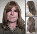 Mitch --100% Human Hair Long Man's Wig -SOLD OUT-