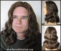 Deluxe Jesus, Hippy, or Rocker Synthetic Wig