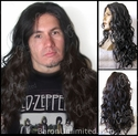 Ogue - Lace Front Hairline <br>  Wavy Curly Synthetic Man's Long Wig
