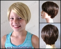 Pixie Synthetic Child's Wig