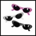 Pocka-dot Cat Eye Sunglasses 50s Style