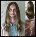 Qrys -- 100% Human Hair  Mono-top SALE