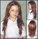 Razor Cut Synthetic Child's Wig
