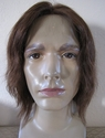 Sov <br> Human Hair Lace front and top Man's Wig