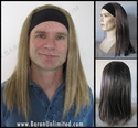 Rick <br> Headband Synthetic Wig