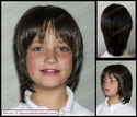 Robin Girl or Boy's Short  Synthetic Wig