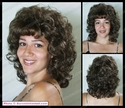 Sabrina Shoulder Length Curly Wig