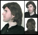 Saxton <br> Synthetic Man's Wig