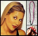 Set of 2 -- Mini Braided Head Bands - Clearance