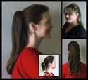 Sigrid -- Clip on ponytail hair CLEARANCE