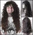 Harris <br> Lace Front Synthetic Man's Long Curly Wig