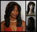 Tahiti Shoulder Length Curly Wig