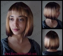 Tipped China Doll Wig