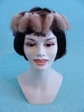 Vintage Mink Tail Hat