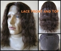 Slove <br> Human Hair Lace Front and Top SOLD