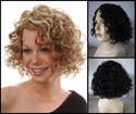 Yay Human Hair Synthetic BLEND Curly Wig