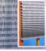 Moire Fabric Pleated Shade